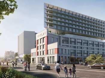Общий вид апарт-комплекса Tatlin Apartments